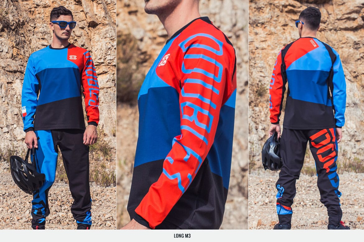 long m3 completo mtb double3